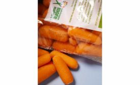 CIJ on carrot pack