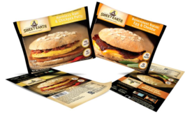 PPC Flexible Packaging Created Sweet Earth's Patty and Sandwich Packaging Design
