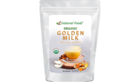 Z Natural Foods Presents Organic Golden Milk in Resealable Pouch