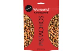 Wonderful Pistachios Debuts Shareable 11-oz. Bag for No Shells Varieties