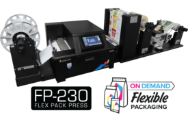 First Desktop Flex Pack Press that Produces Flexible Packaging on Demand