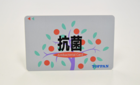 Toppan Produces Payment Cards with Antibacterial Agent