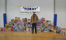 Toray Toys for Tots