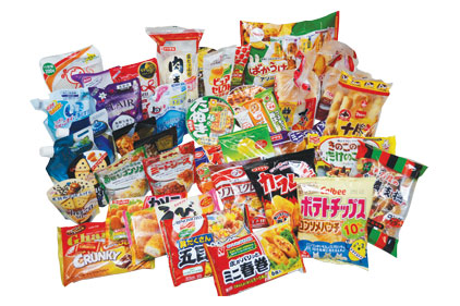 packaged toyo snacks