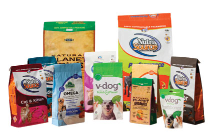 pet food packages