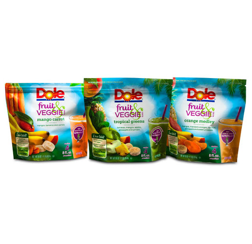 Dole Fruit & Veggie Blends