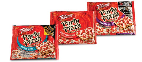 General Mills Totino's Pizza Overwrap from Printpack