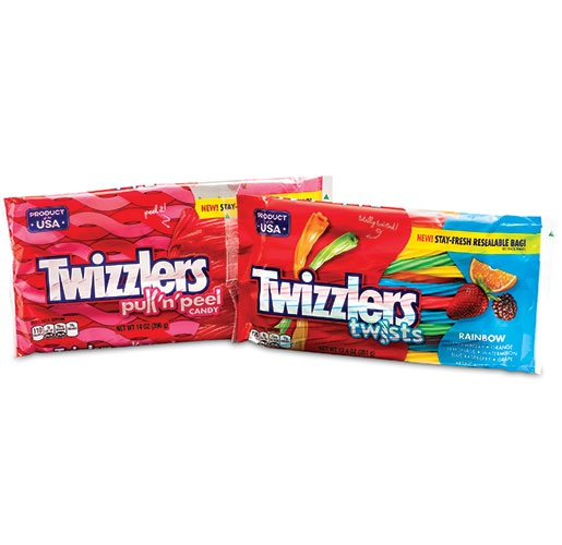 Hershey's Twizzlers with FreshPak Resealable from Sealstrip Corporation