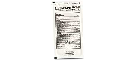 NFI/UPM Pharmaceuticals' Lidocare™ Pain Relief Patch Pouch from Bemis Healthcare Packaging