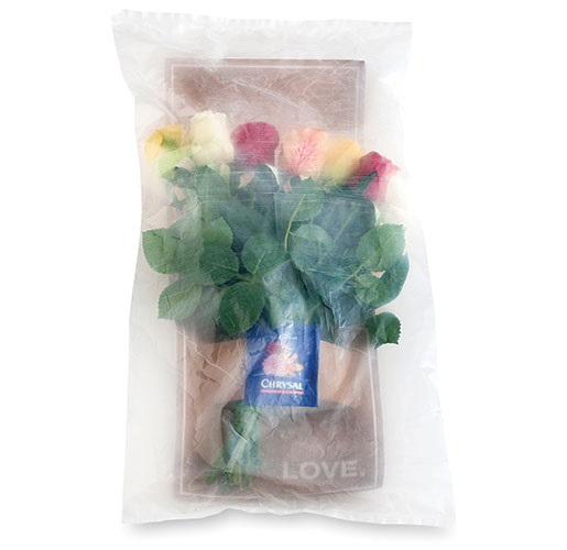 Waterless Internet Flower Packaging from Flex Films (USA) Inc.