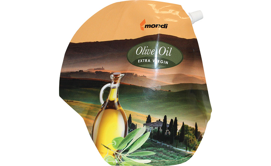 Mondi extra virgin olive oil pouch