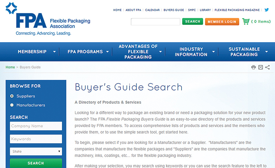 2016-2017 Flexible Packaging Buyers Guide Available