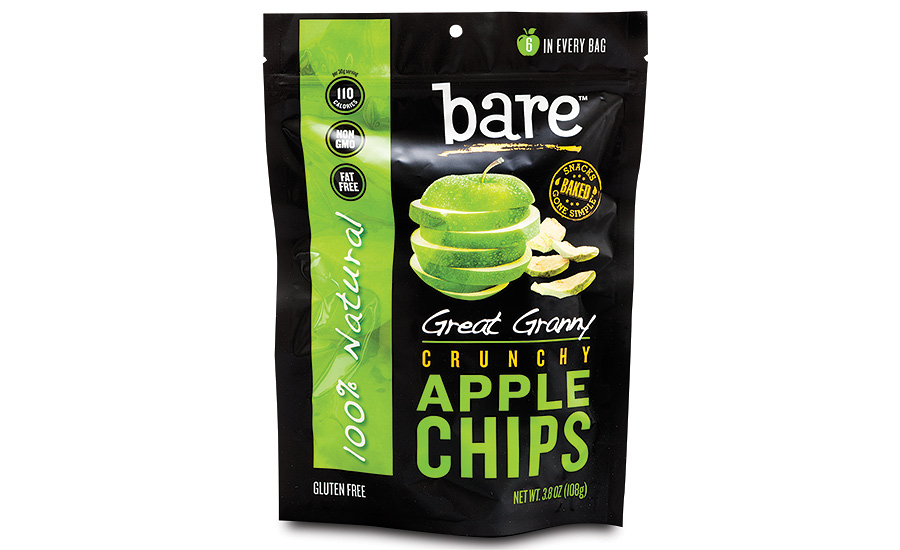 Great Granny Crunchy Apple Chips package by American Packaging Corporation