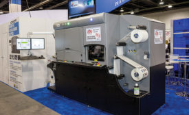 INX's NW210 UV digital narrow web press