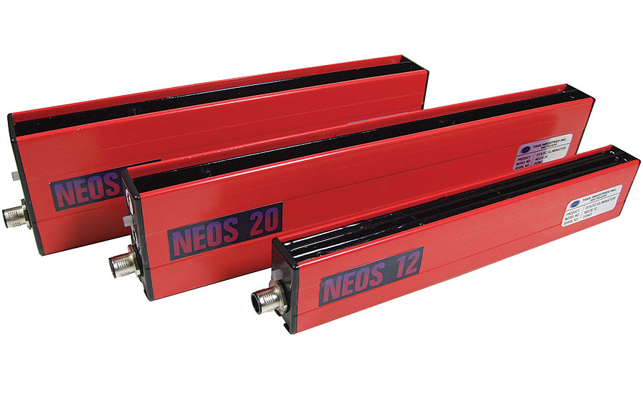 TAKK's NEOS Series Bars, which use reactive intelligence to neutralize static.