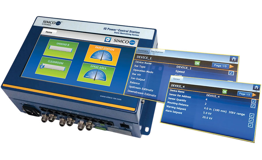 Simco-Ion's revamped IQ Power Control Station.