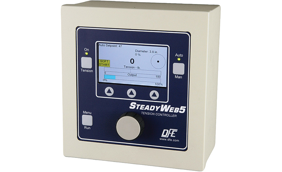 DFE's SteadyWeb5 Tension Controller