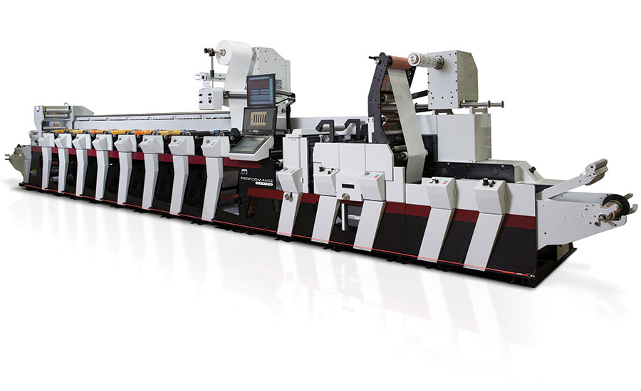 Mark Andy Performance Series flexo press
