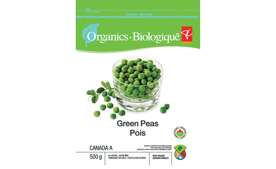 Smart Pack peas pouch