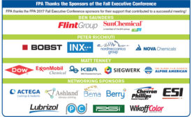 FPA Fall Executive Conference Sponsors