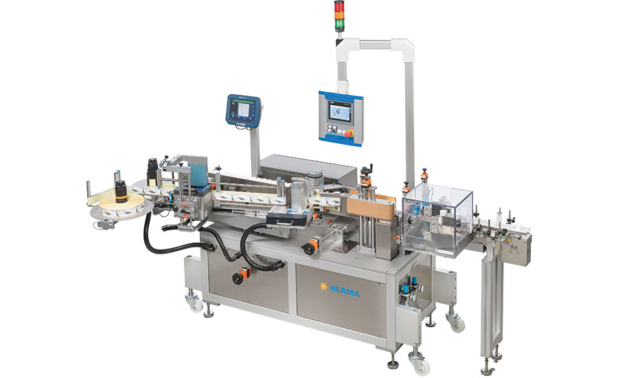 HERMA US' Labeler for Pharma, Cosmetic Applications