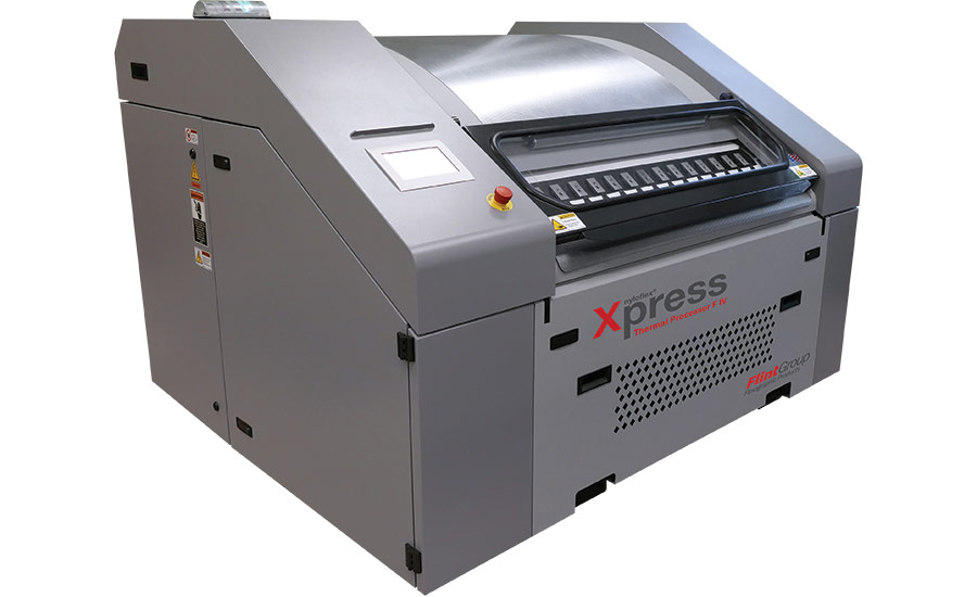 Flint Group's Thermal Plate Processing System for Label Printing