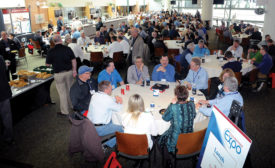 Converters Expo network lunch