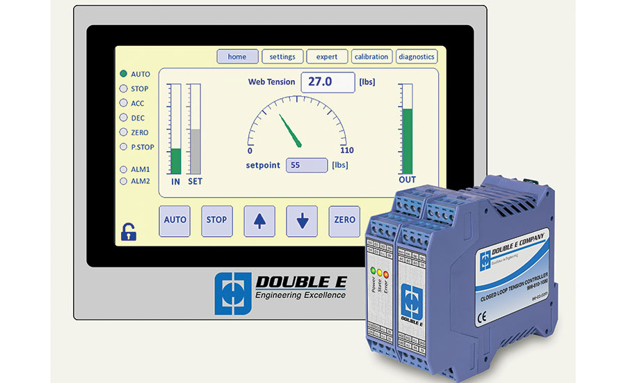 Double E tension control system