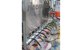 The Sincroclean automatic wash-up system