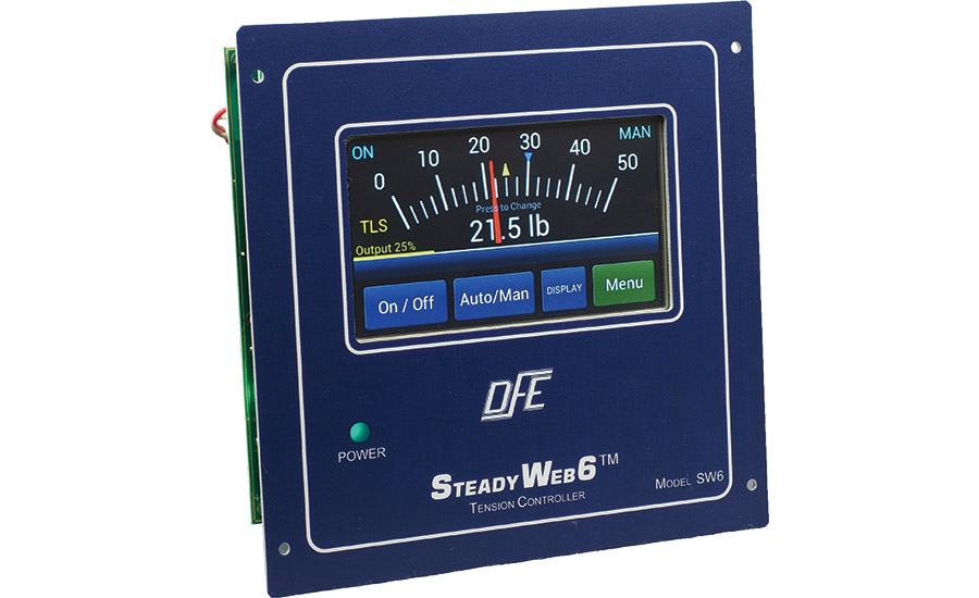 DFE's new SteadyWeb6 tension controller.