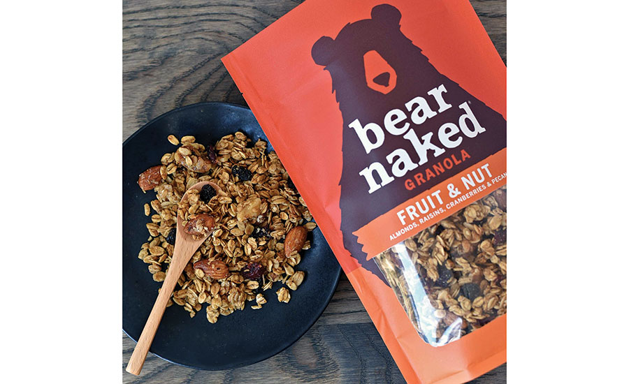 Bear Naked's new line of packaging