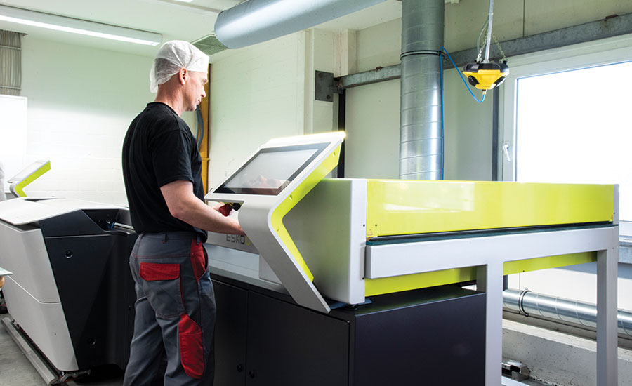prepress has become a highly automated process at Schur