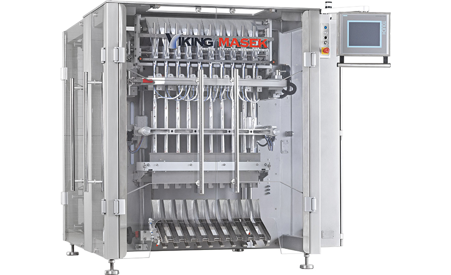 single-lane vertical form-fill-seal packaging machines