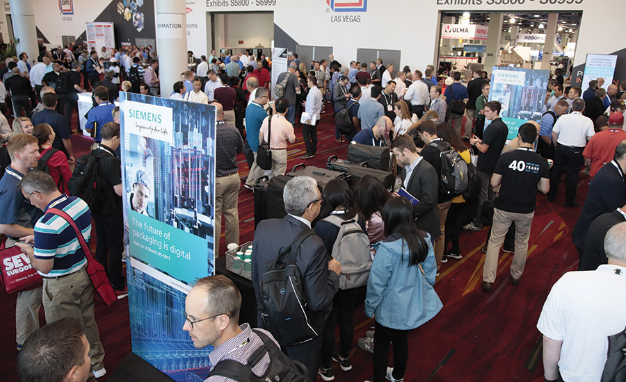 PACK EXPO draws large crowds