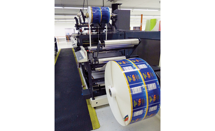 Catapult Print uses two Nilpeter 8-unit flexo presses