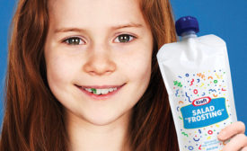 Kraft Pouch Disguises Salad Dressing for Kids