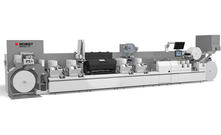 The Bobst MASTER M5 press