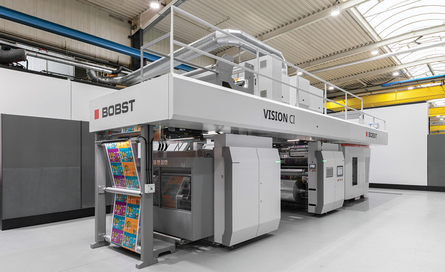 BOBST VISION CI flexo press