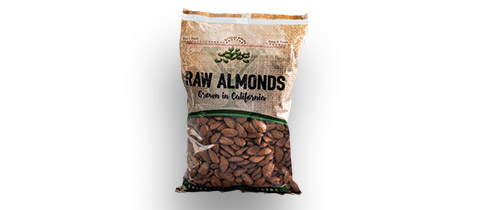 Yribarren Farms Almond Pouch with Hermetic Innolok Zipper, 2.5 lb. by Emerald Packaging, Inc.