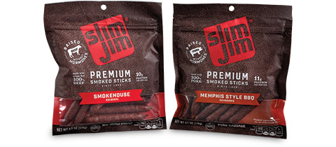 ConAgra Slim Jim Premium Smoked Sticks from Bemis Company, Inc.