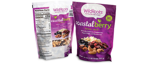 Wild Roots Coastal Berry Trail Mix, 26 oz. by American Packaging Corporation