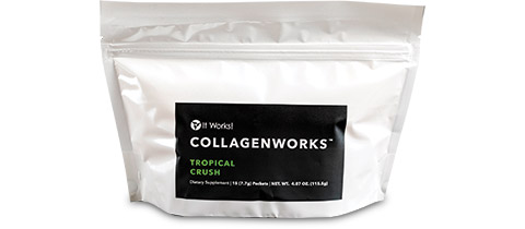 It Works Global C-CollagenWorks Tropical Crush Gusset Pouches by CL&D Graphics, Inc.