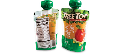 Tree Top Apple Sauce by Sonoco Flexible Packaging