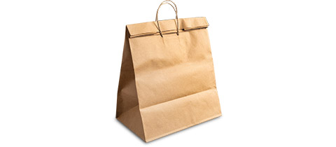 Load & Fold Shopping Bag by Novolex™