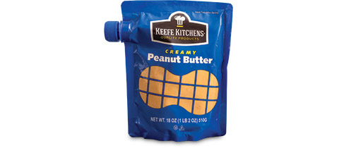 Keefe Kitchens Peanut Butter Pouch by Printpack