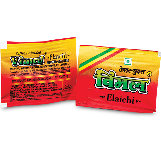 Vimal Cardamom Pack — Fast, Easy & Omni Directional Tear for Consumer Convenience by Flex Films (USA) Inc.