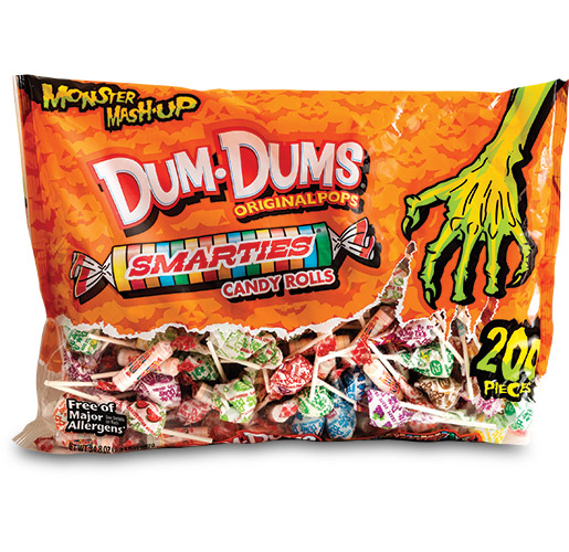 Spangler Candy Monster Mashup Dum-Dums by ProAmpac