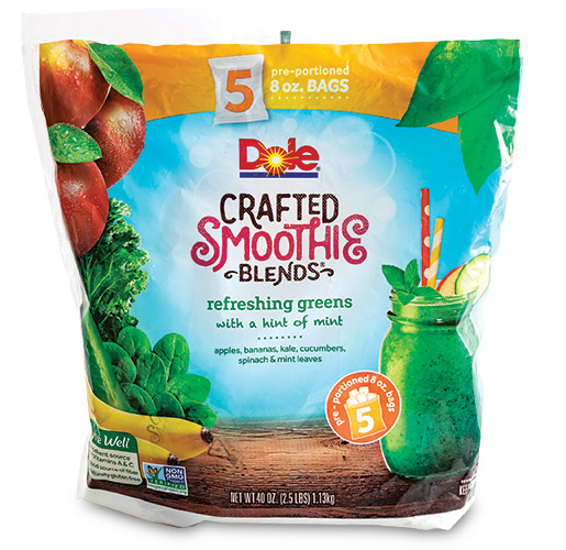 Dole Crafted Smoothies from Emerald Packaging, Inc.