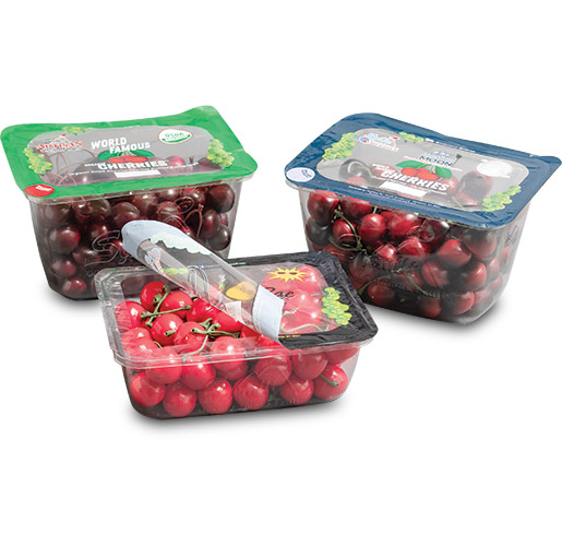 Stemilt Growers Topseal Cherry Tray by Sonoco Flexible Packaging