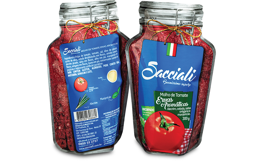 Predilecta Sacciali Jar Shaped Pouch